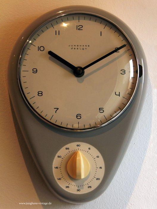 vintage kuchenuhr : Junghans Vintage - Alte Uhren von Junghans Max Bill